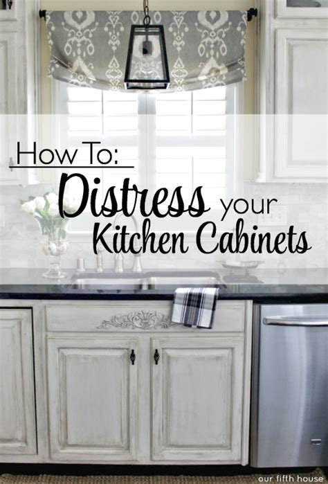 How To Paint And Distress Cabinets by Distressed Kitchen Cabinets How To Distress Your Kitchen