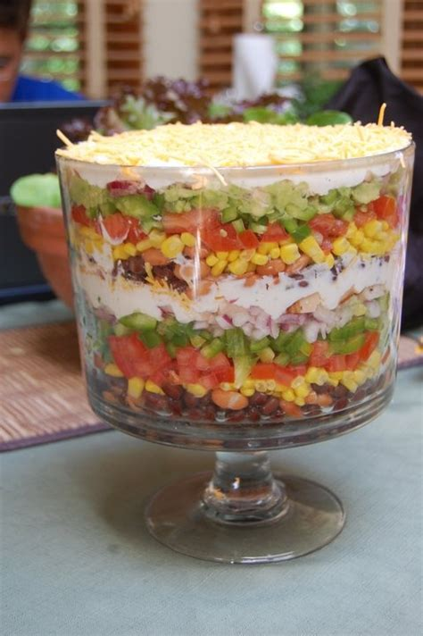 trifle bowl recipe a cooking baker layered mexican trifle salad