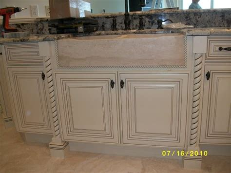 Cabidor Classic Storage Cabinet White by Off White With Glaze Traditional Kitchen Cabinetry