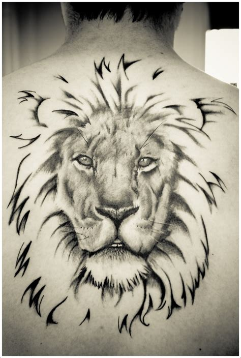 20 Tribal Lion Tattoo Designs For Your Inspiration