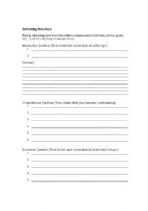 Science Article Summary Worksheet Science Best Free Printable Worksheets