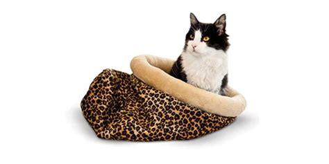 self heating cat bed k h pet bed warmer indoor cat bed heating pad