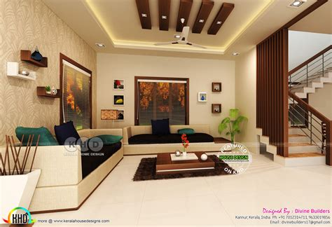 Interior designers always notice these bedroom decorating mistakes. Living, master bedroom, under stair interiors - Kerala ...