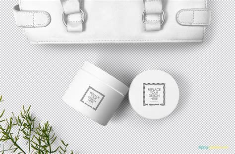 Nail down those first impressions with an amazing collection of cream cosmetic mockups. Free Cosmetic Packaging Mockup | ZippyPixels