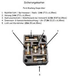 1969 Mustang Fuse Box Diagram