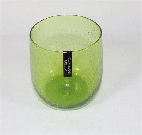 Bicchieri Verdi by Bicchiere Verde Set Da Sei Bicchieri Bolle Verde 38 Cl