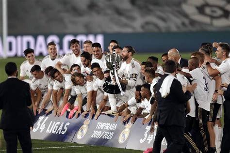 Se consagra el Real Madrid campeón en La Liga via ...