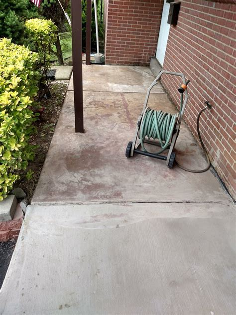 Front Porch Makeover   Wilmington Concrete Resurfacing