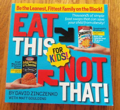 EAT THIS NOT THAT FOR KIDS BOOK NEW | eBay