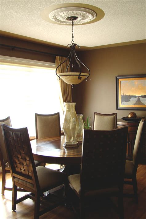 elegant mountain home traditional dining room