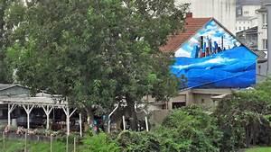 Garten Mieten Frankfurt : blaues wasser murals von cor und bad breath stadtkind ~ Orissabook.com Haus und Dekorationen