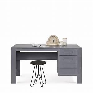 Bureau En Pin : bureau en pin bross denis par ~ Teatrodelosmanantiales.com Idées de Décoration