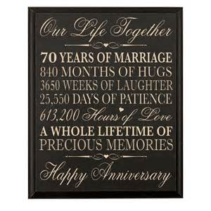 70th wedding anniversary gifts 44 70th wedding anniversary wall plaque gifts for parents 70th anniversary gifts