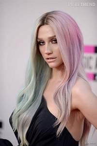 Couleur Cheveux Pastel : couleur de cheveux gris pastel coiffures la mode de cette saison ~ Melissatoandfro.com Idées de Décoration