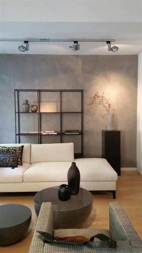 Wandgestaltung Wohnzimmer Modern by Betonoptik Im Wohnzimmer Die Moderne Beton Cire