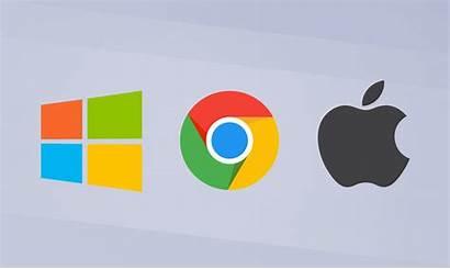 Windows Chrome Os Macos Apple Laptop Vs