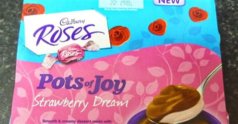something to look forward to cadbury roses pots of strawberry