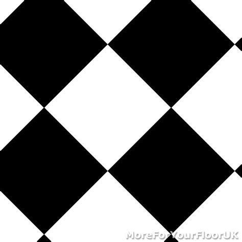 CHEAP Modern Vinyl Flooring, Black & White Diamond Vinyl