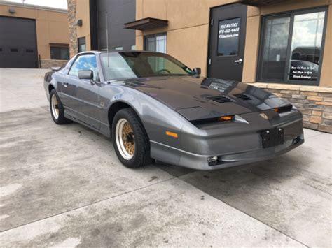 1987 Pontiac Firebird Trans Am Gta, Ta. 22k Miles! All