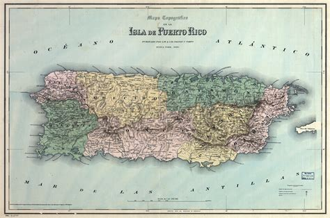 puerto rico map  la chuleta congela