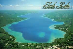 Torch Lake Michigan Map