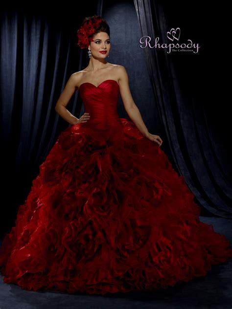 Red Wedding Dress Naf Dresses