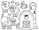 Coloring Barnyard Pages sketch template