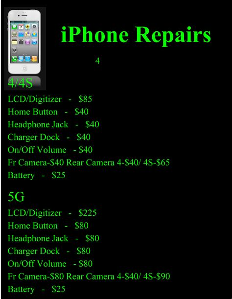 iphone  screen replacements  stratford cell repair