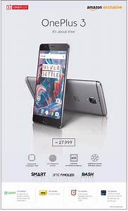 Oneplus 3 Price For India Revealed In Ad Ahead Of Launch  Rs  27999 For 6gb Ram Version