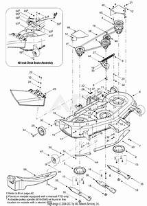 Mtd 14at818h205  2003  Parts Diagram For Deck Assembly H