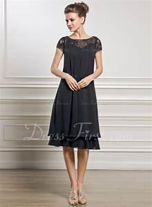 Kleider Brautmutter Standesamt : empire linie u ausschnitt knielang chiffon kleid f r die brautmutter mit perlstickerei ~ Eleganceandgraceweddings.com Haus und Dekorationen