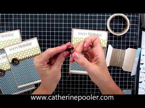 Masculine Card Making Video Tutorial Mass Producible Youtube