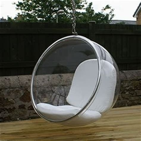 Clear Hanging Chair Cheap by Eero Aarnio Chair With White Seat