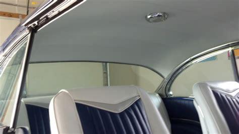 install garage door headliner interior trim completed trifive com 1955
