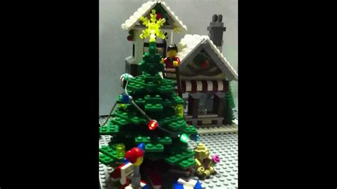 lego 10199 winter toy shop christmas tree with working