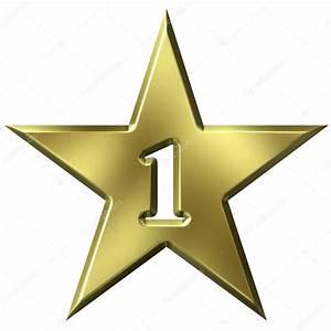 Number 1 Star — Stock Photo © georgios #1222223  Star