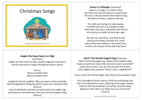 how to write a classic christmas song and why it s harder than classic christmas songs for kids free printable true aim
