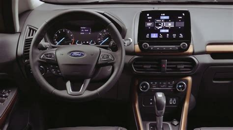2018 Ford Ecosport Ses Exterior And Interior Details Youtube
