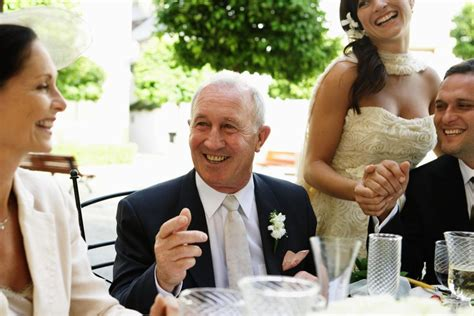 wedding reception tips   father   bride