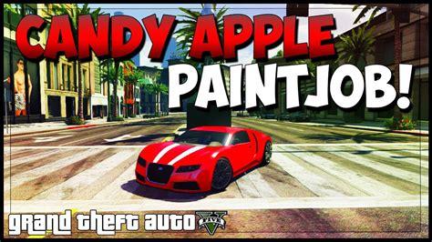 gta  rare paint jobs candy apple red gta  modded