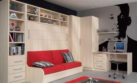bureau dans une armoire armoire lit avec canape cus jacquelin etageres angle