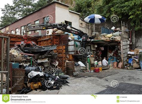Garbage Collection Site Editorial Stock Photo Image