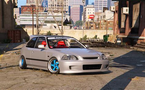 Honda Civic Tuning honda civic ek9 stance tuning template gta5 mods