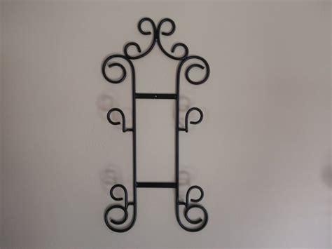 metal plate rack plate holder plate hanger  metalkraftdecor