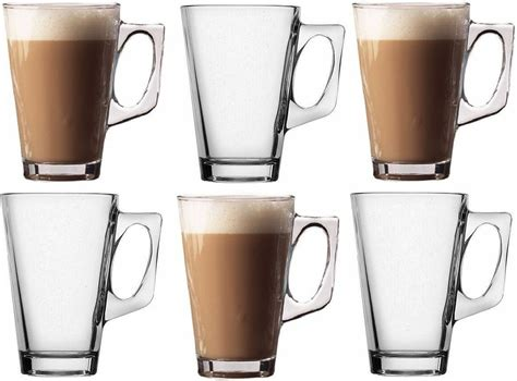 Keep reading, and you might find yourself an excellent coffee bearer from the. PACK OF 6 LATTE GLASSES COFFEE TEA CAPPUCCINO GLASS 240ml MUGS HOT DRINK CUPS | eBay
