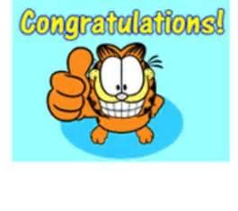 Garfield Congratulations Clip Art
