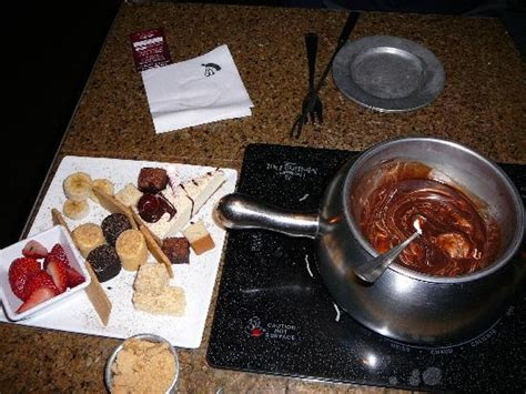 dessert dipping selections melting pot picture of the melting pot wilmington tripadvisor