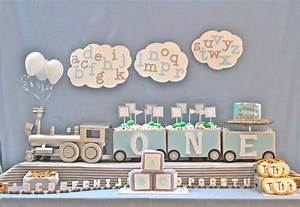 kara39s party ideas alphabet train party decor supplies With train letters baby