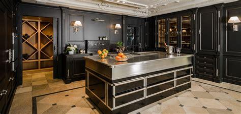 cuisine inox et bois universal décoration des collections haut de gamme
