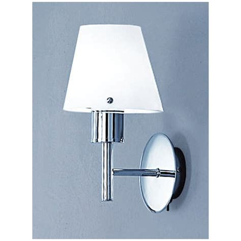 franklite fl2059 1 turin chrome single light wall bracket